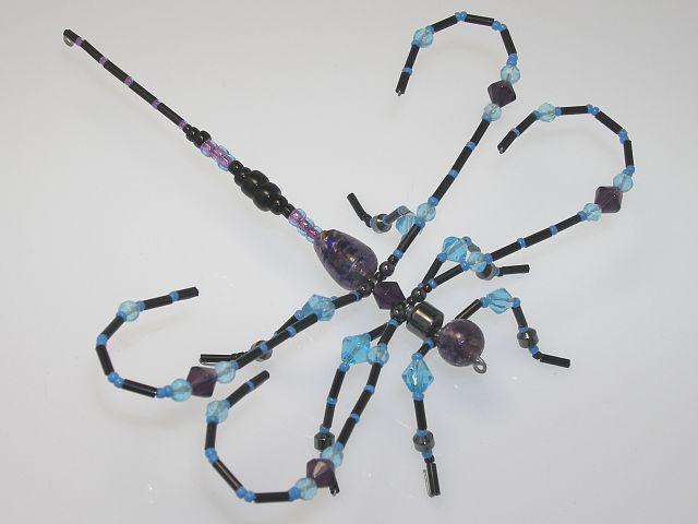 Beaded Dragonfly #208