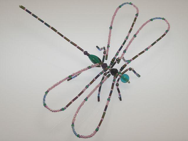 Beaded Dragonfly #210