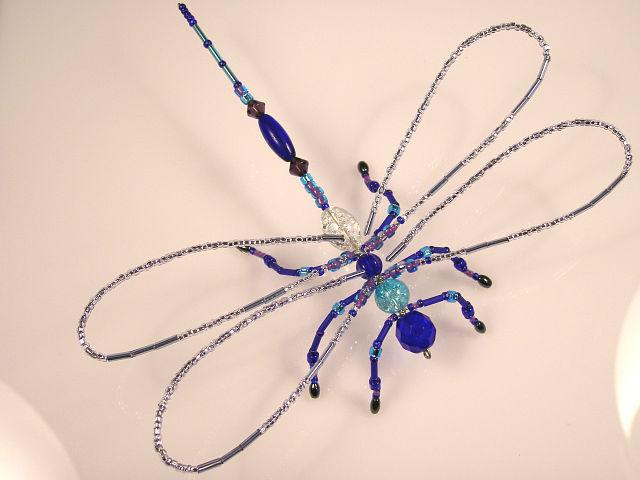 Summer Solstice Dragonfly - Purple
