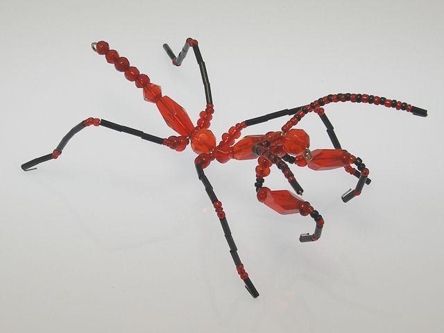 Beaded Mantis #202