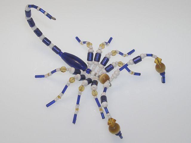 Beaded Scorpion #200