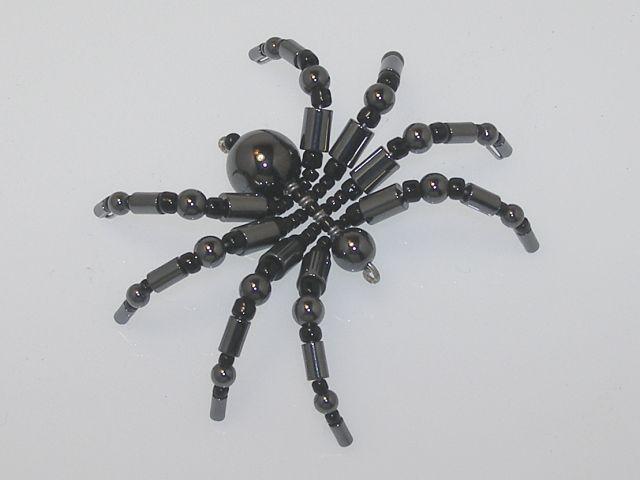 Beaded Spider #146